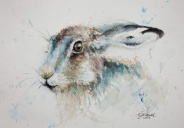 hare painting