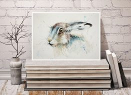 Hare Watercolour