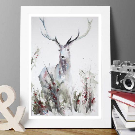 Deer giclee print
