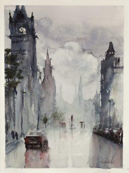 Edinburgh Watercolour